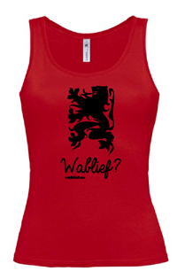 Wablief dames top